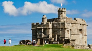 Dog friendly day out at Pendennis Castle