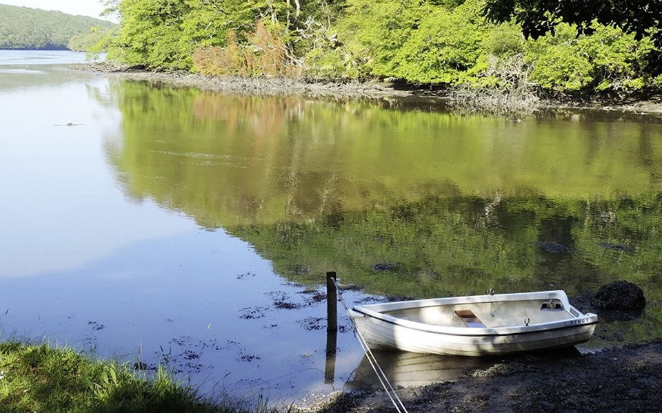 Dog friendly waterside cottages in Cornwall