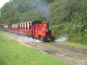 Lappa Valley steam train