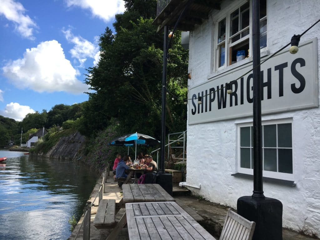 The Shipwright's Arms, Helford, Cornwall