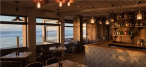 The Beach Hut, dog friendly restaurant at Watergate Bay, Cornwall