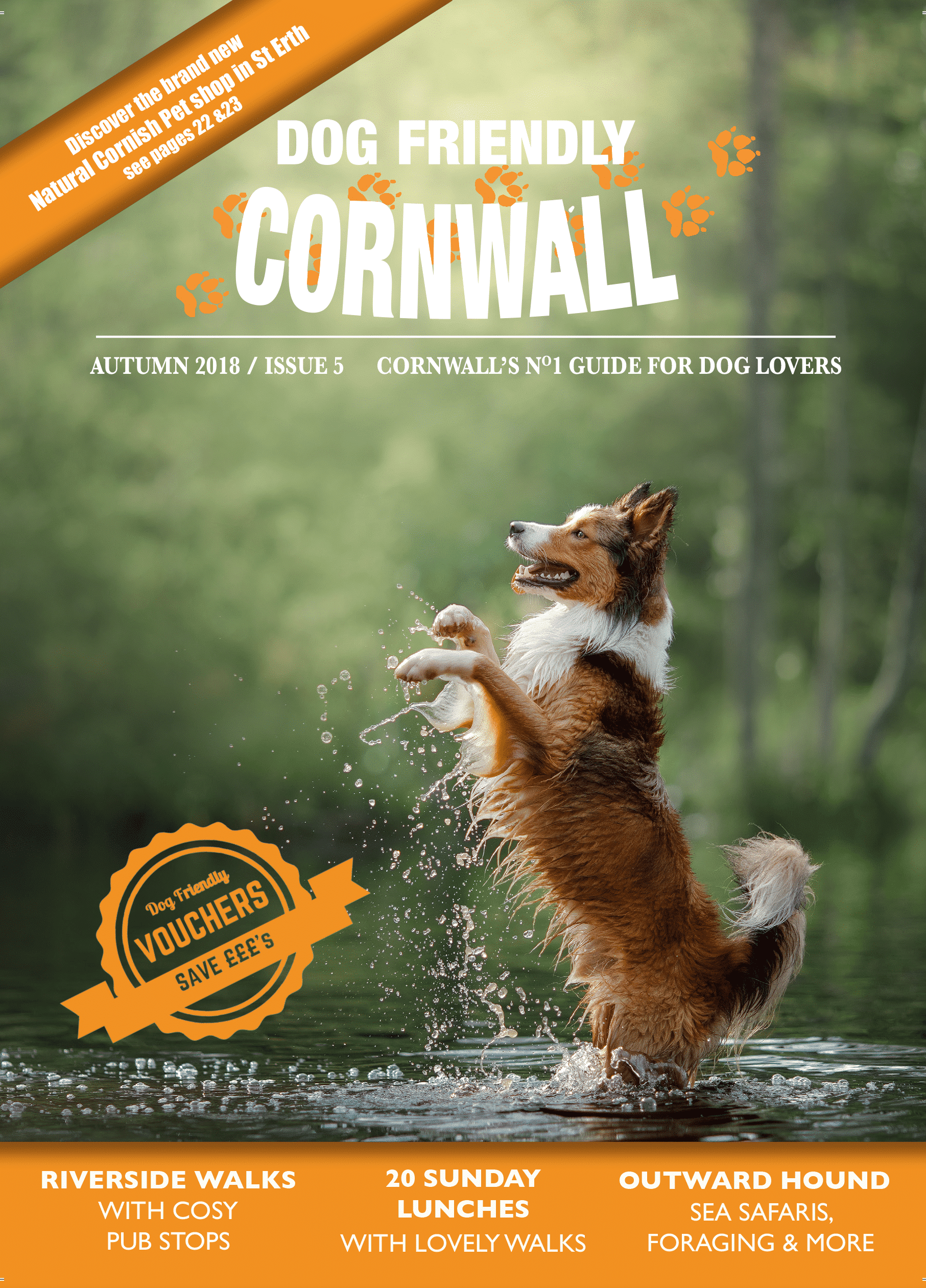 Dog Friendly Cornwall Autumn 2018 issue