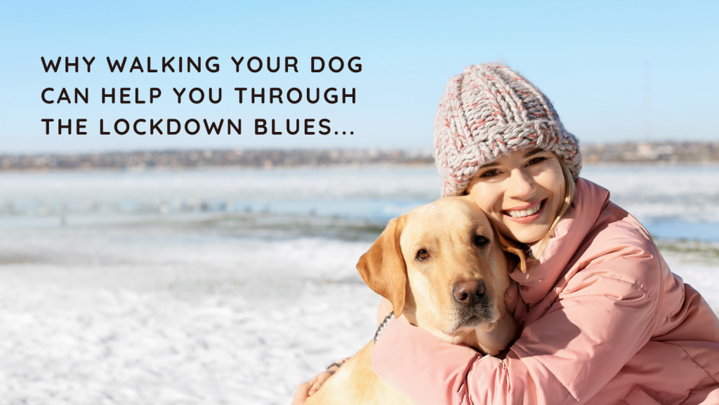 winter lockdown: why walking your dog can help