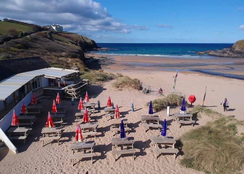 Poldhu Beach Cafe, Poldhu Cove, Cornwall